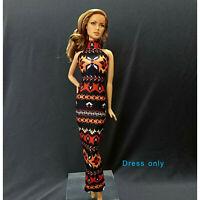 "Handmade~Doll dress for 12""Doll~ Barbie,Fashion Royalty Silkstone #B0017-001042"