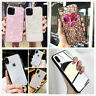 For iPhone 11 Pro Max 8 7 Plus XS Max XR Cute Bling Glitter Slim Fit Case Cover