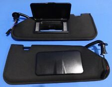 2005-2013 C6 CORVETTE SUN VISOR SET WITH VANITY MIRRORS