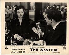 SYSTEM 1953 Frank Lovejoy, Joan Weldon, Paul Birch 6 UK 10x8 LOBBY CARDS