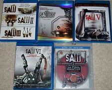 Horror Blu-ray Disc Lot - SAW Blu-ray Complete Collection SAW 1-7 (Used)