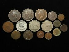 More details for ireland, collection of 16x coins, 17th-20thc