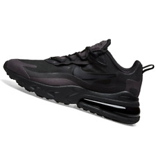 Nike Men's Air Max 270 REACT TRIPLE BLACK Running Shoes CI3866 003 ALL SIZES NEW