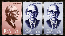 Südafrika 361-62 X + Y **, Präsident Fouche