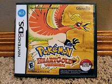"""Pokemon Heartgold Authentic Case Only  Nintendo DS """"For Display Only"""" Case"""