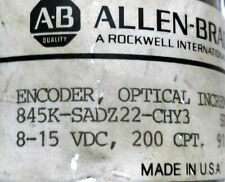 Allen Bradley 845k Sadz22 Chy3 Incremental Optical Rotary Encoder