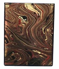 Cremation Urn with Marbling Colors