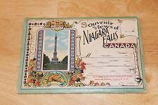 Vintage 1910s/20s Niagara Falls Canada SOUVENIR POSTCARD FOLDER Valentine & Sons