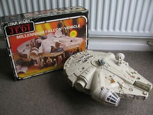 Vintage Star Wars Millennium Falcon Complete Original Boxed