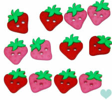 Dress it Up Buttons Sew Cute Strawberries 6929 - Summer Fruit Strawberry