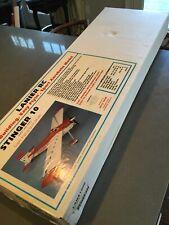 Lanier stinger 10 r/c model airplane kit with extras