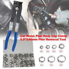 Single Ear Type O-Clip Pliers CV Joint Crimping Tool + 170pcs Hose Clip Clamps