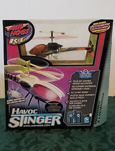 Air Hogs R/C Havoc Stinger Four-Way Control Indoor Helicopter NEW