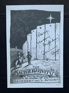 BANKSY - Litho signed and numbered on paper - The Alter-Nativity