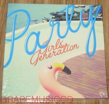 GIRLS' GENERATION SNSD PARTY SINGLE ALBUM K-POP CD + FOLDED POSTER NEW