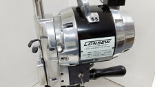 """Consew 918-8 Straight Knife Cloth and Fabric Cutting Machine 8"""" Blade 110 Volt"""