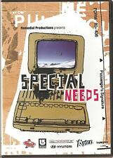 SPECIAL NEEDS A SNOWBOARDING FILM DVD QUENTIN ROBBINS * CHRIS & RUDI KROLL +MORE