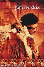 Poster : Music : Jimi Hendrix - Fringed Shirt - Free Shipping ! #7547 Lc14 G