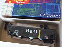 Vintage Roundhouse HO Scale B&O 435077 Hopper Car with Box