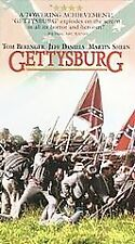 Gettysburg (VHS, 1994) Tom Berenger Jeff Daniels Matin Sheen Sam Elliott