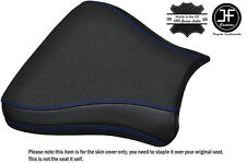 CARBON GRIP BLUE ST CUSTOM FITS SUZUKI GSXR 600 750 SRAD 96-00 FRONT SEAT COVER