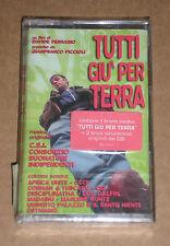 TUTTI GIU' PER TERRA (CSI, CCCP, AFRICA UNITE) - MUSICASSETTA MC SIGILLATA
