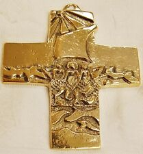 COMMUNION CROSS - PECTORAL - RELIGIOUS - ROSARY - JESUS - MISSION - 208