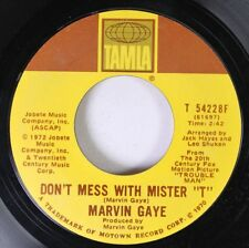 """Soul 45 Marvin Gaye - Don'T Mess With Mister """"T"""" / Trouble Man On Motown Record"""