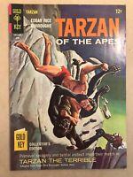 TARZAN #166 | TARZAN OF THE APES | Gold Key Comic Book - 1967 | HIGH GRADE 🔥