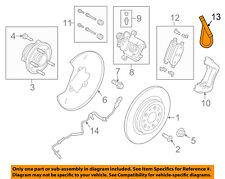 FORD OEM Rear Brake-Hydraulic Flex Hose AA5Z2A442A