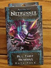 Android Netrunner LCG: All That Remains Data Pack (Pack #5 in Lunar Cycle)