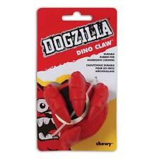 Dogzilla Dino Claw - Durable Rubber Play Ball Fetch Dog Puppy Toy + Tennis Ball