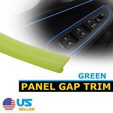 32FT Car Door Panel Gap Trim Molding Strip Light Green Moulding Decorate Garnish