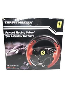 Thrustmaster 4060052 Red Legend Edition Ferrari Racing Wheel for PS3, PC