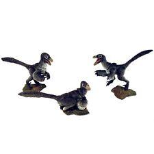 Beasts of the Mesozoic Raptor Nestlings 3 Pack Black 1:6 Scale Figurines