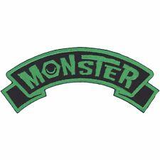 Kreepsville 666 Monster Arch Logo Name Patch NEW Psychobilly Punk Rock Horror