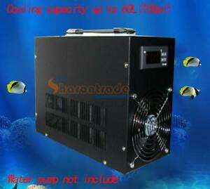 Electronic water chiller water cooler Cooling up to 60L Aquarium fish tank