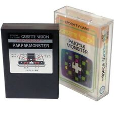 PAK PAK MONSTER EPOCH Cassette Vision Japan Import Boxed CV PACMAN Clone RARE