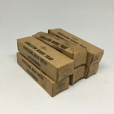 Simulator Booby Trap Whistling M119 Lot Of 6 Unused Vietnam War