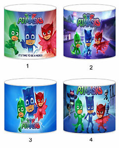 PJ Masks Childrens Lampshades Ceiling Light Table Lamp Bedding Curtains