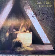 Kate Bush Lionheart LP Hand Signed