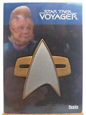 The Quotable Star Trek Voyager relic card 6 of 9 Neelix combadge 224/225