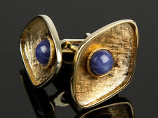 Gemstone Sapphire Cufflinks for Men