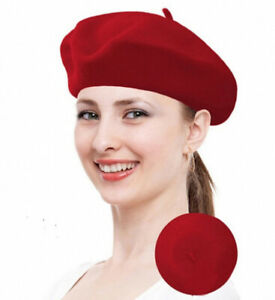 Fashion Classic French Style Wool  Beret Warm Winter Hat