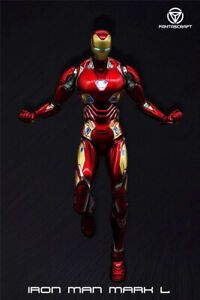 Comicave 1/12 Diecast Iron Man Mark 50 Model MK50 6'' Action Figure Collectible