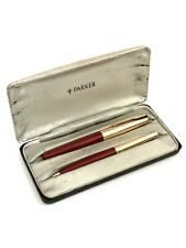 VINTAGE PARKER FOUNTAIN PEN AND PROPELLING PENCIL SET