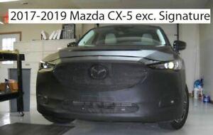 Lebra Front End Cover Bra Mask Fits 2017-2020 Mazda CX-5 EXC. Signature