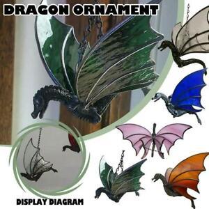 Stained Glass Window Hangings Suncatcher Dragon Craft Window Decor  Home
