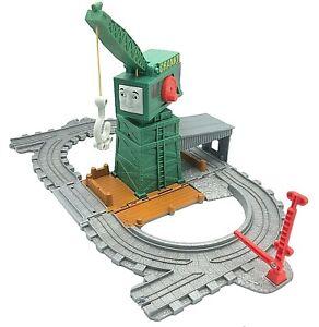 Thomas Engine Train Take Along N Play Cranky Crane at the Docks Folding Track