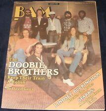 BAM magazine November 20 1981 #117 The Doobie Brothers Lindsey Buckingham Sparks